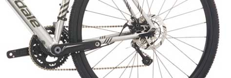 Cannondale CAADX 105 gears