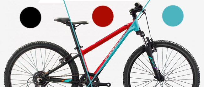 Orbea MX 24 colors