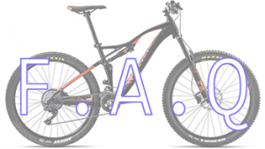 Frequently asked mountain bike questions