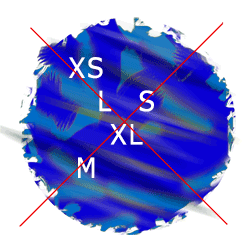XS S M L XL XXL bicycle frame size