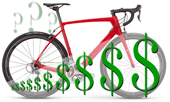 How Much To pay for a Road Bike