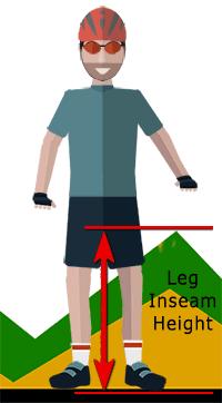 Leg Inseam Height measuring