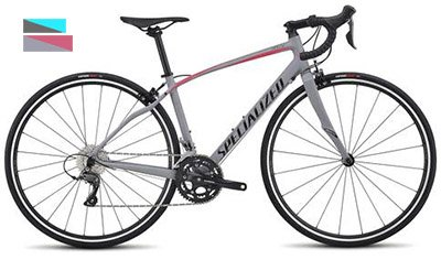 Specialized Dolce, beginner road bike for women