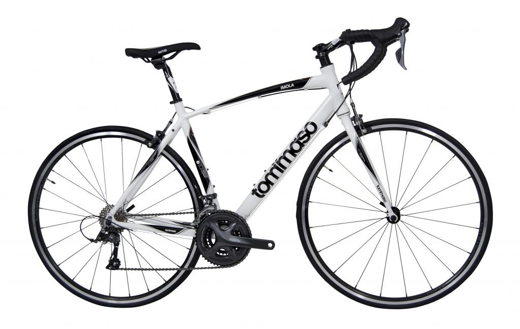 Tommaso Imola White road bike