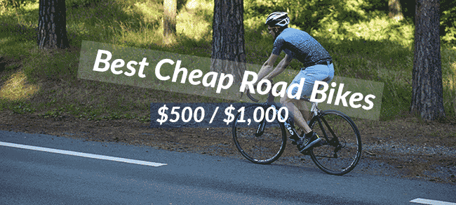 Best Cheap road bikes under 500 and 1000 dollars