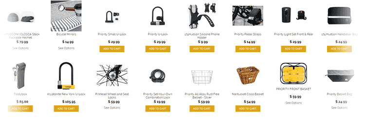 Priority Bicycles Accessories
