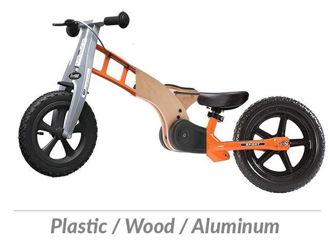 Kids balance bike materials