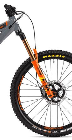 The Orange Alpine 6 XTR fork