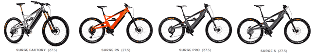 Orange Electric bikes