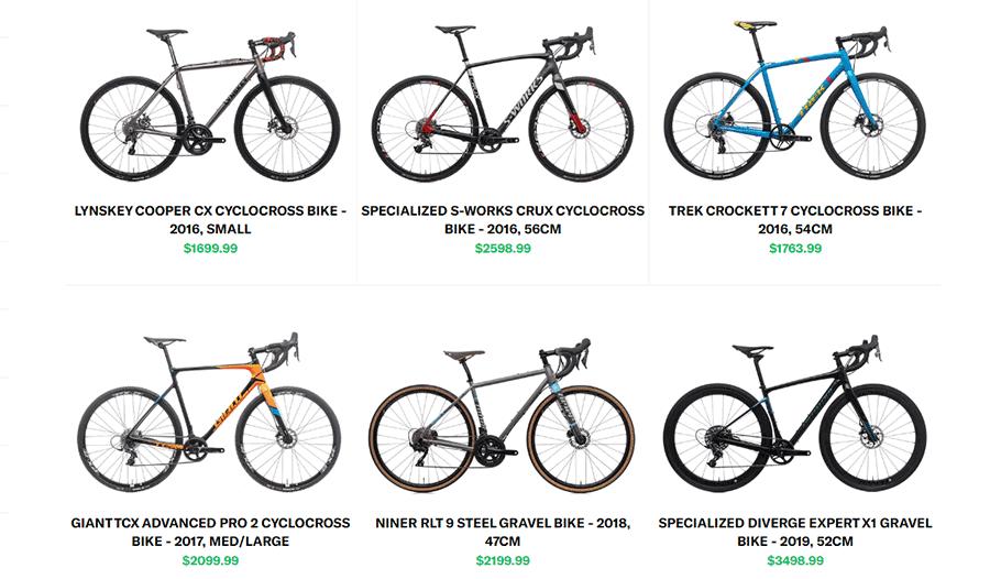 Gravel bikes on The Pro's Closet