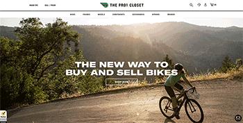 The Pro's Closet website