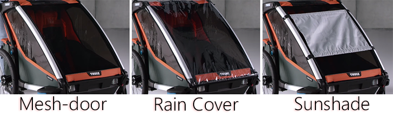 thule chariot covers