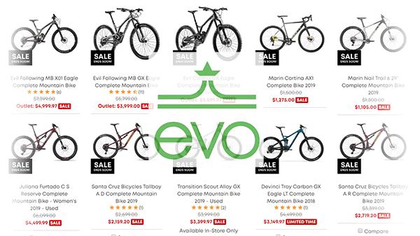 Evo.com Black Friday selection
