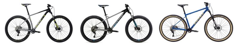 marin hardtail mountain bikes
