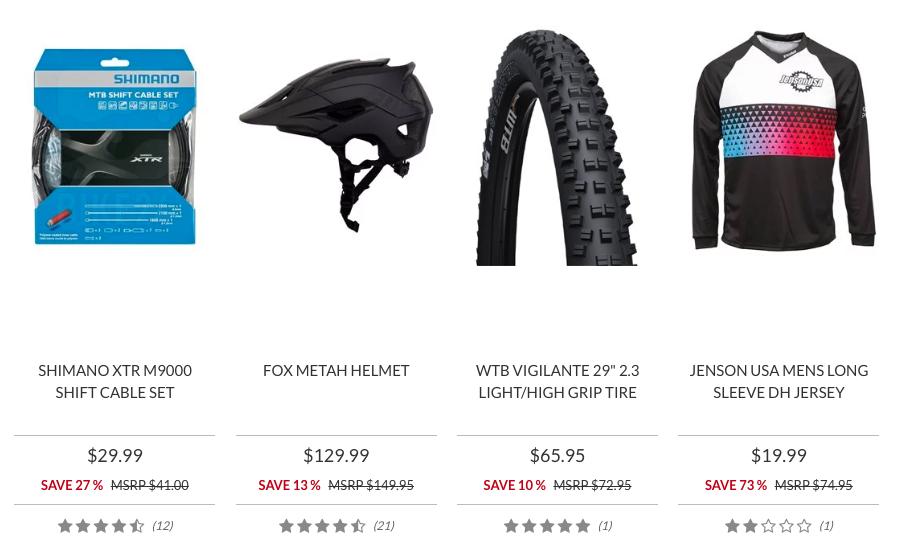 JensonUSA Sale Section