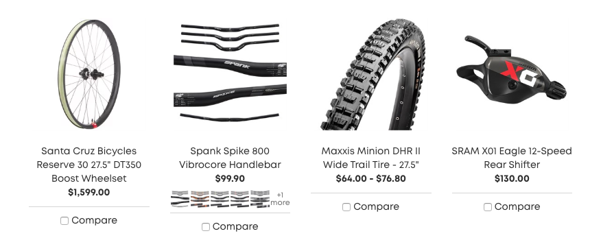 evo Website Bike Components