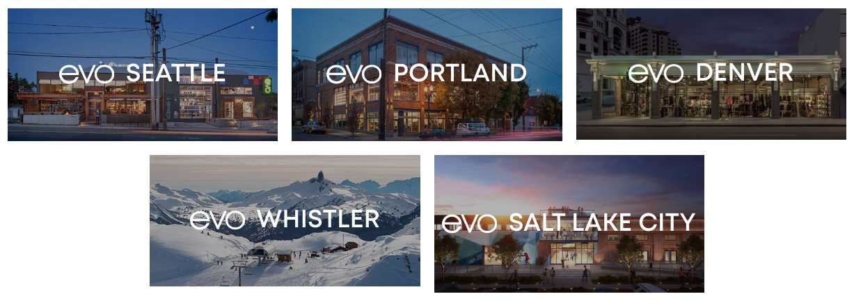 evo Shop Locations