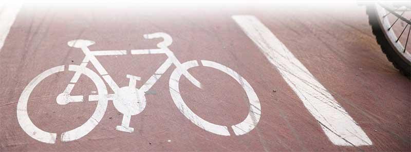 busy bike lanes