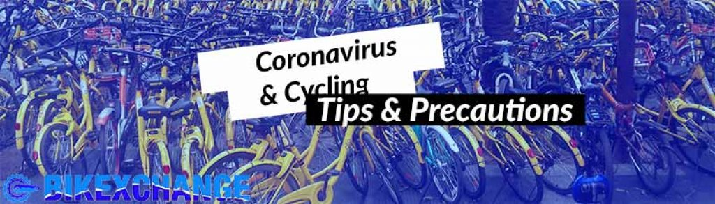 Tips and precautions for cyclists on Corona