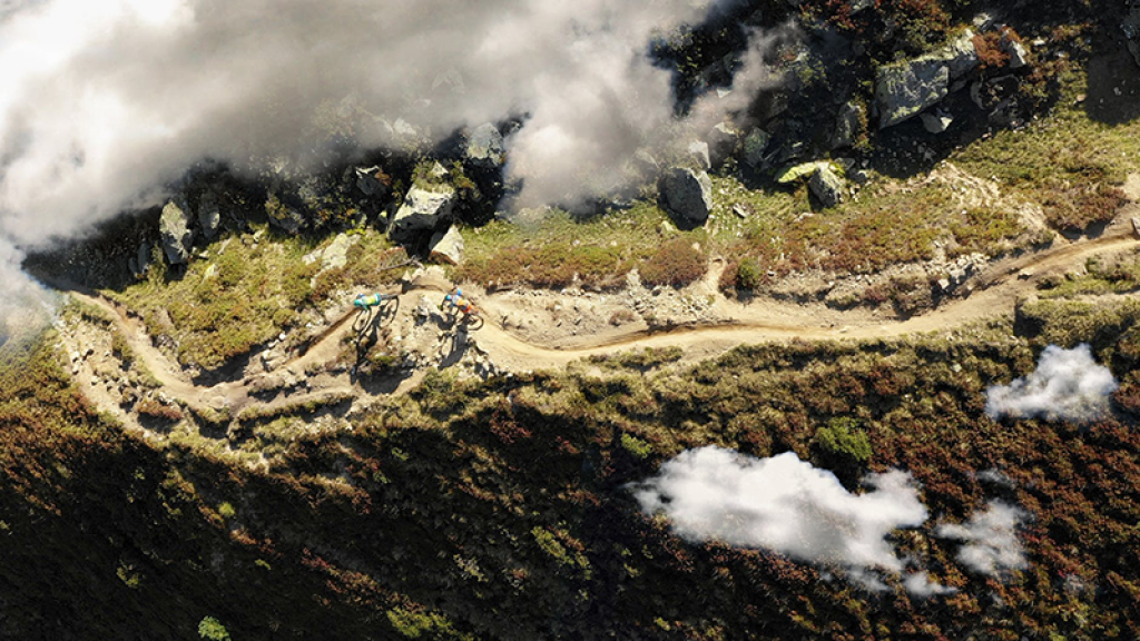 trailriding from above