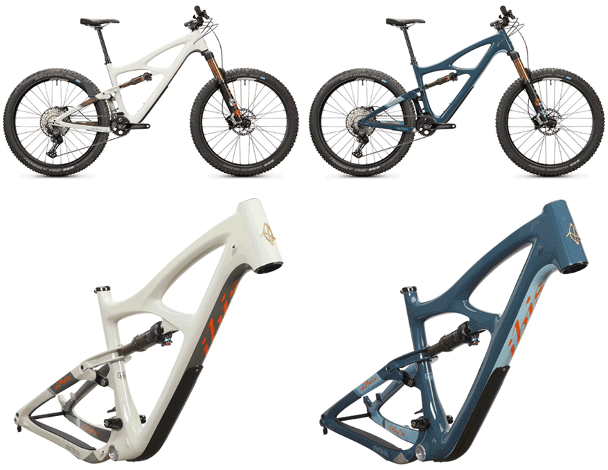 full-suspension bikes and frames