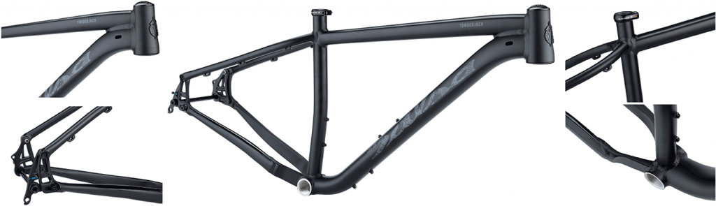 salsa timberjack frame in all angles