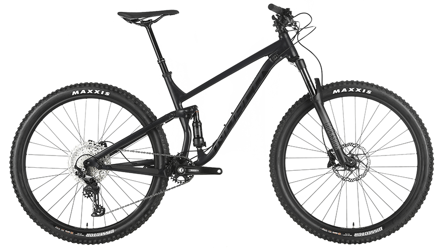 norco black trail mountain bike