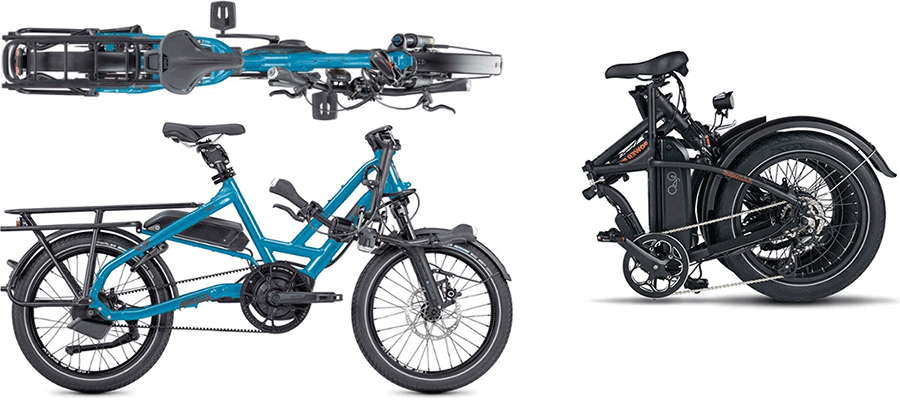 fully foldable versus half folding bike