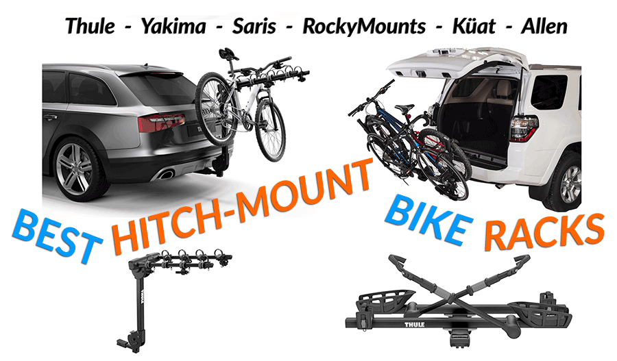 Hitch Mount Bicycle Rack Rack Mounted on Hitch Stable Platform for Transporting Bikes to Load Bikes