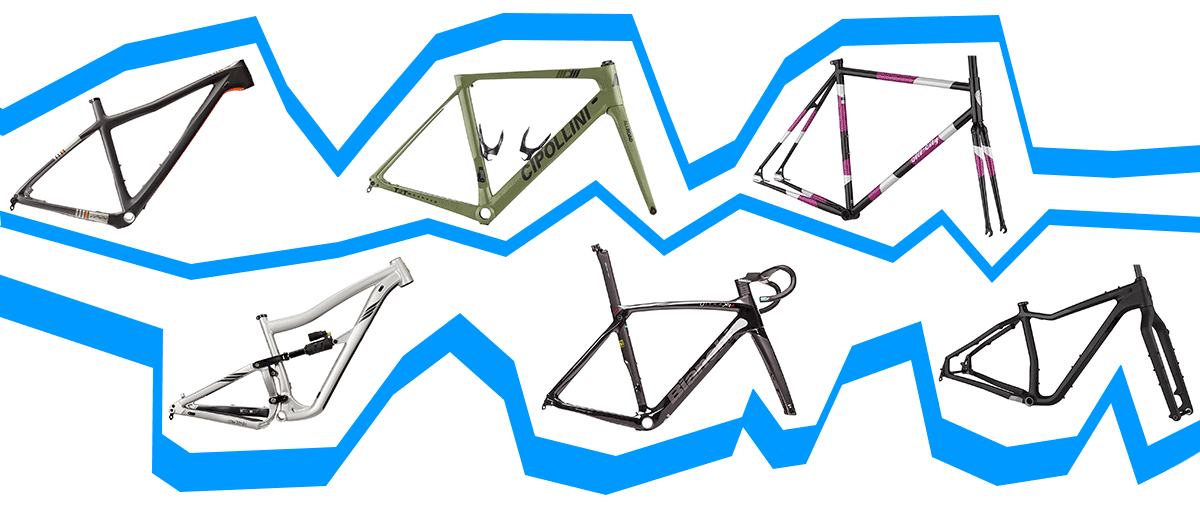 different types of bicycle frames