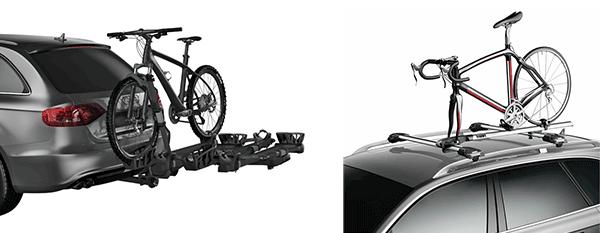 vertical bike rack and horizontal roof rack
