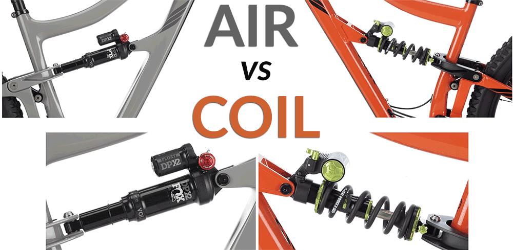 air sprung rear suspension versus coil suspension