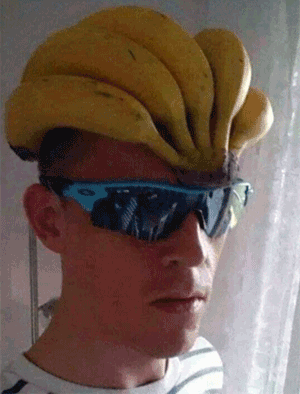 Banana Head helmet bicycle