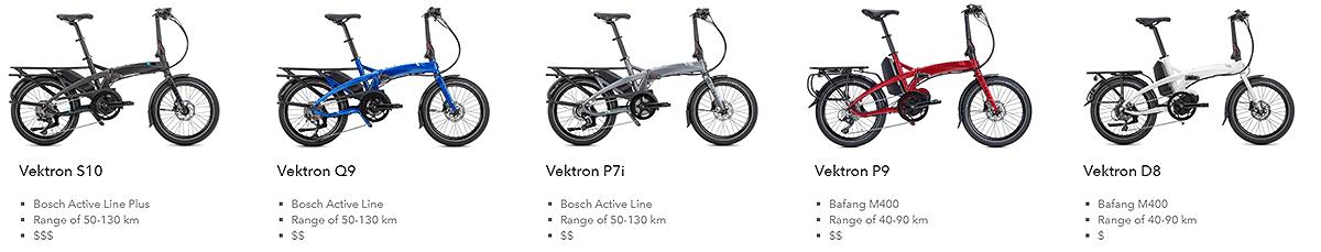 tern vektron bikes