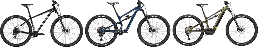 cannondale mountain bike types