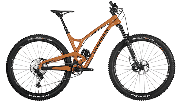 evil full suspension mountain bike