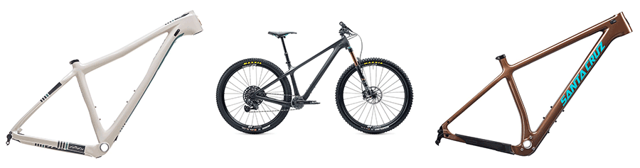 hardtail mountain bike frames
