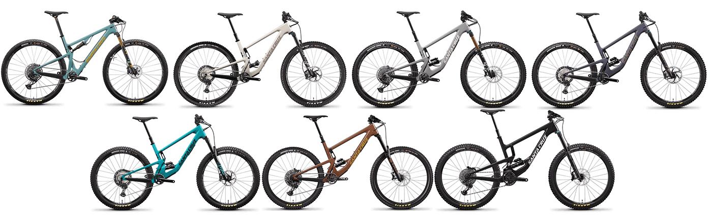 santa cruz bicycles full-suspension models