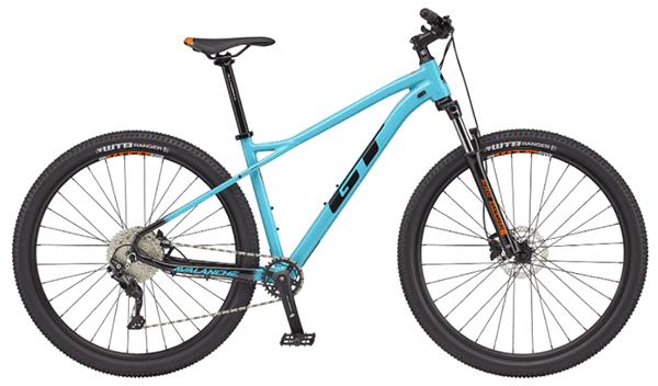 gt avalanche cyan mountain bike