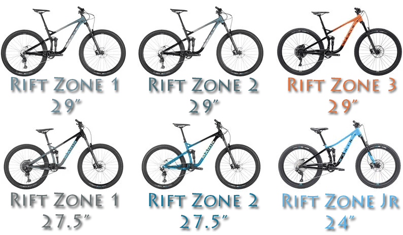 marin rift zone mountain bikes