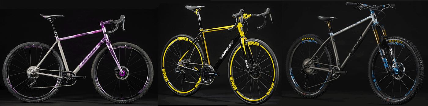 sage titanium custom bikes