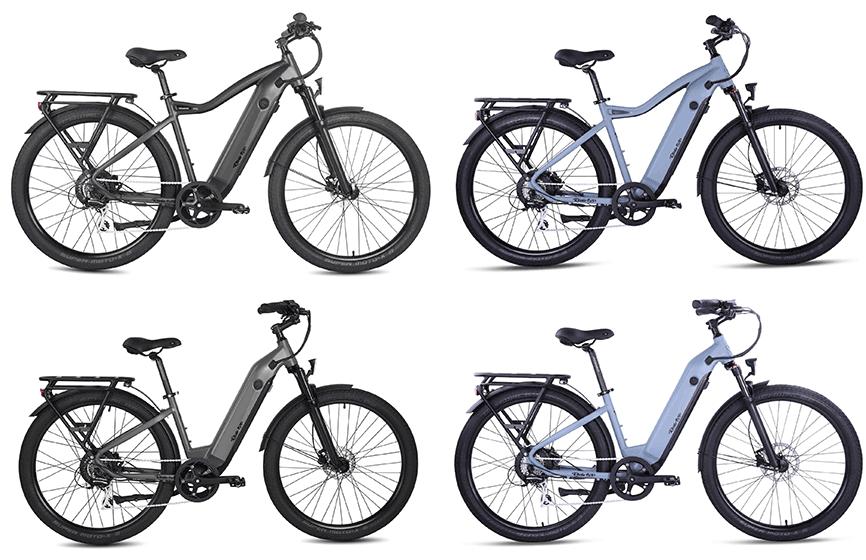 rideup 700 series electric bikes