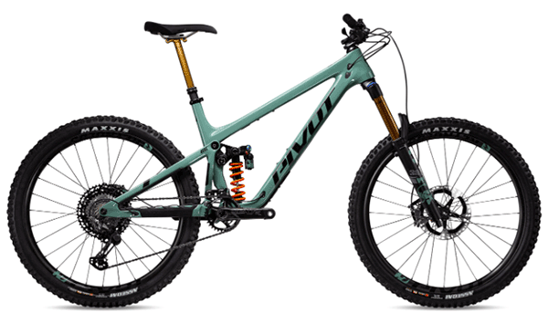 pivot full suspension mountain bike