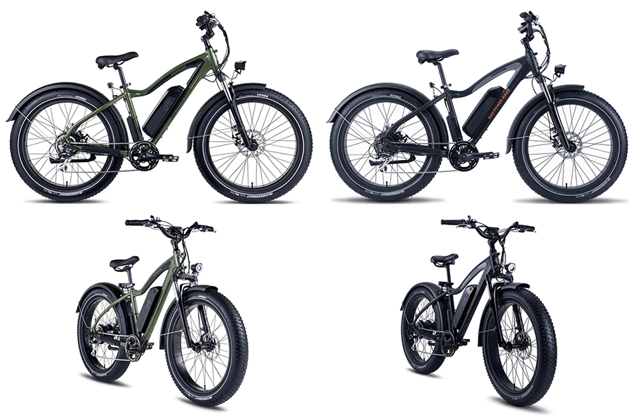 fat bike with electric motor