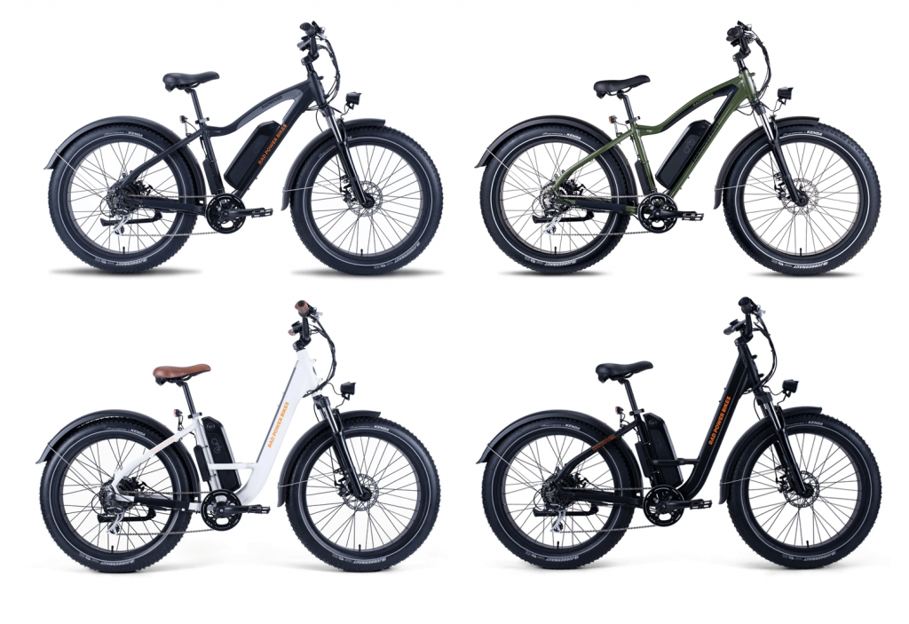 RadRover 5 and RadRover Step-through - class 2 electric bikes