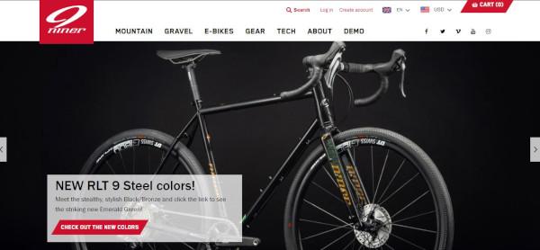 niner bikes website