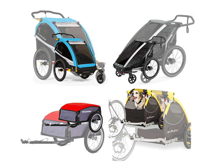best bicycle trailers