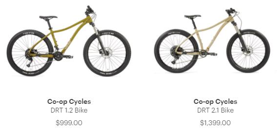 drt mountain bikes