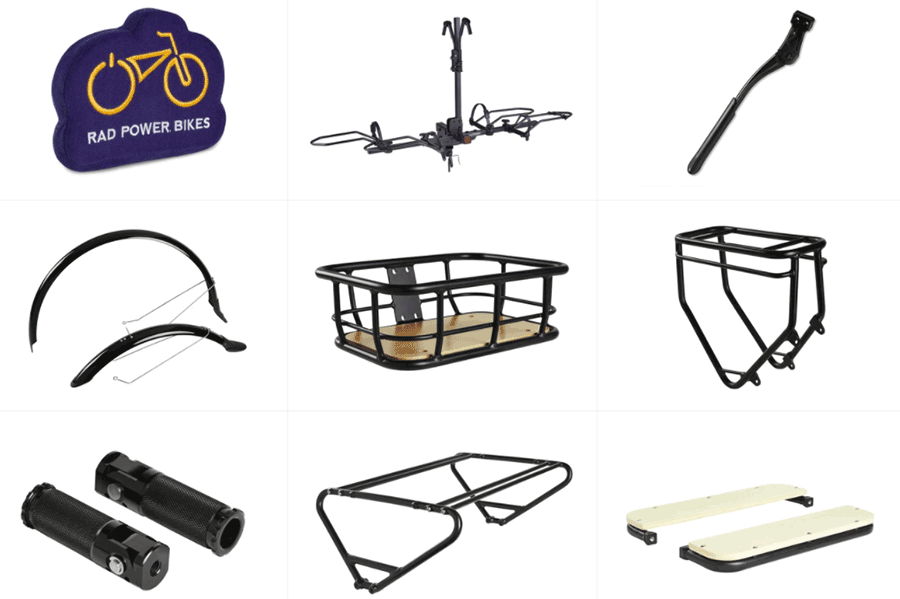 rad power bikes accessories
