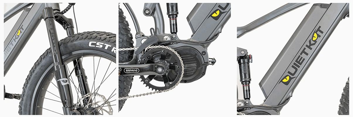 QuietKat bike ridgerunner features